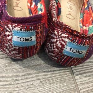 Toms Shoes - Toms • Lina Woven Ballet Flats